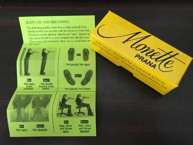 モネットのマウスピース