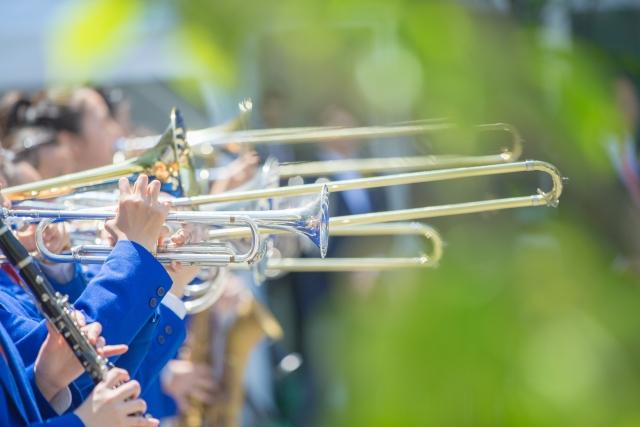 吹奏楽部の画像