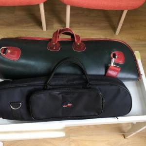 トランペットのバッグ