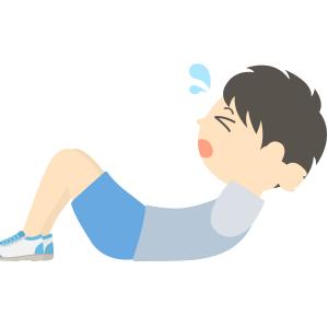 腹筋トレーニングの画像
